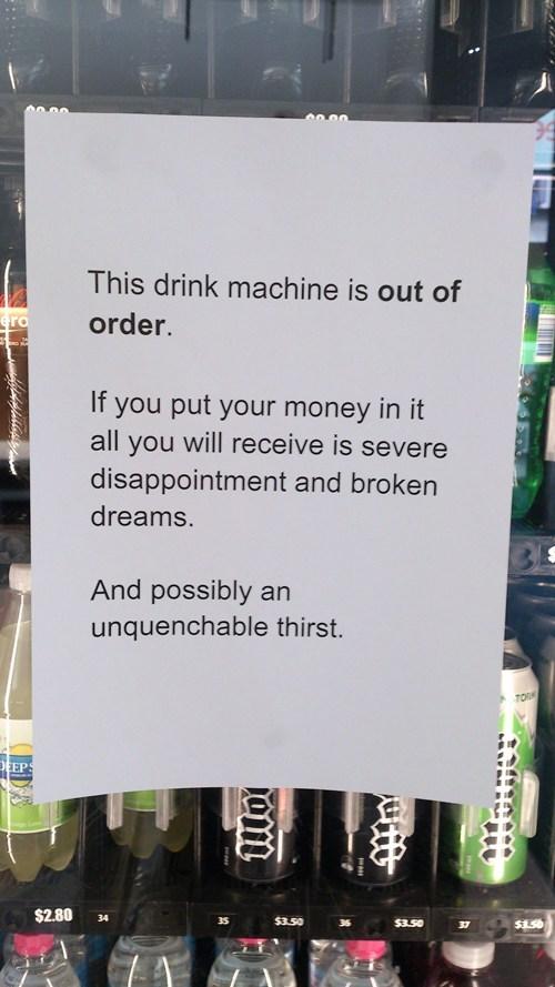how to fix a vending machine